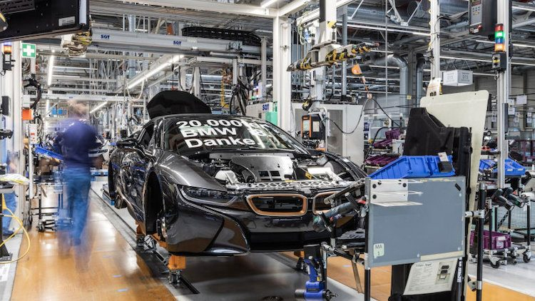 BMW i8 Sophisto