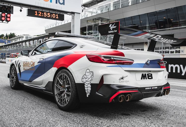 Dit is de BMW M8 MotoGP Safety Car