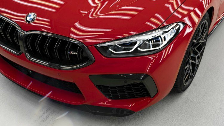 BMW M8 Competition Coupe Individual Manufaktur Edition (F92) '19