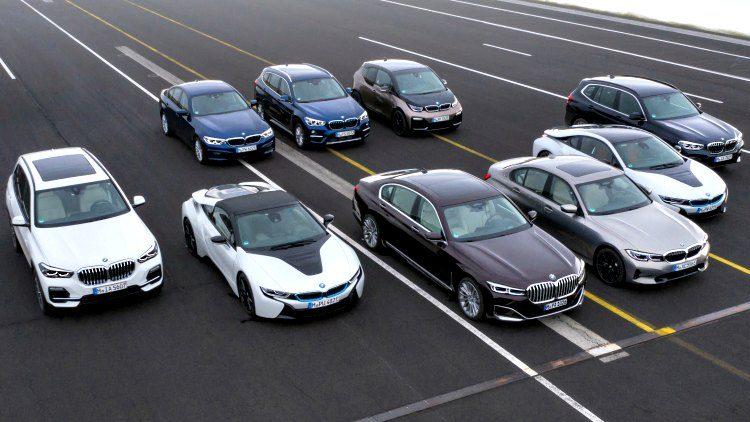 BMW PHEV model Range '19
