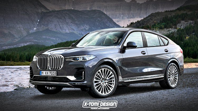 BMW X8 X-Tomi Design rendering '19