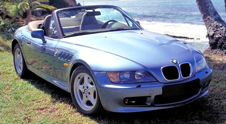 BMW Z3 GoldenEye Edition '95