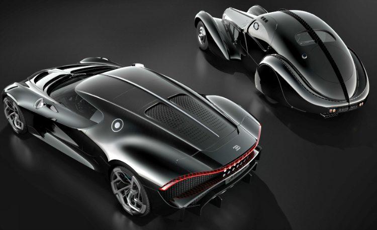 Bugatti Type 57S Atlantic - La Voiture Noire '19