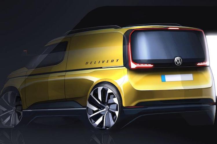 Nieuwe Volkswagen Caddy voor het eerst in beeld