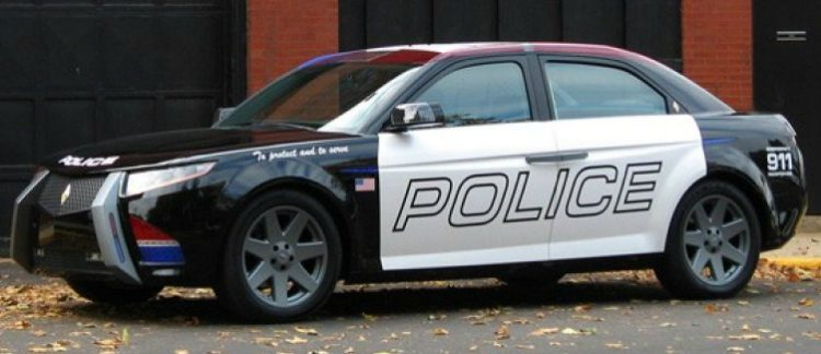 Carbon Motors E7 Police Interceptor '09