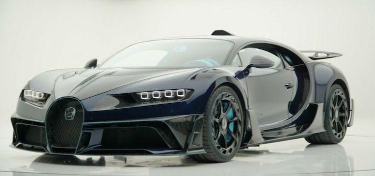 Mansory wil van zijn Bugatti Chiron af
