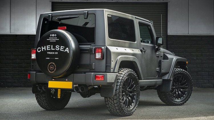 Chelsea Truck Company Jeep Wrangler Black Hawk Expedition '19