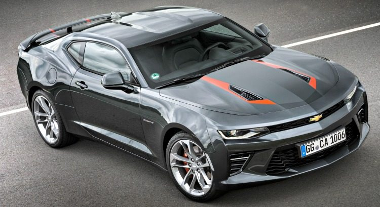 Chevrolet Camaro SS 50th Anniversary Edition '16