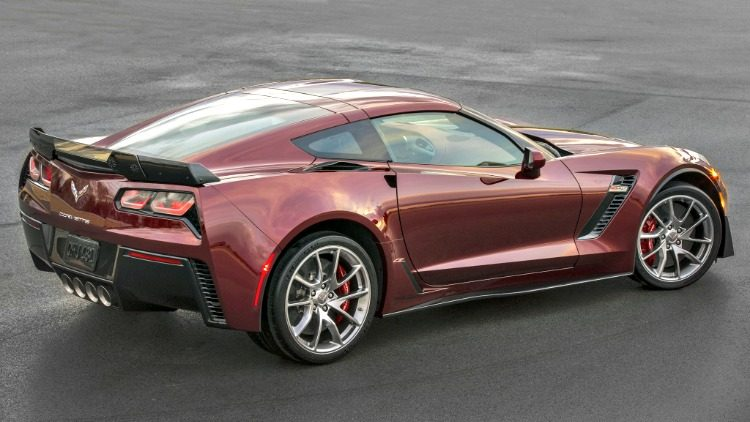 Chevrolet Corvette Z06 Spce Red Edition (C7) '19
