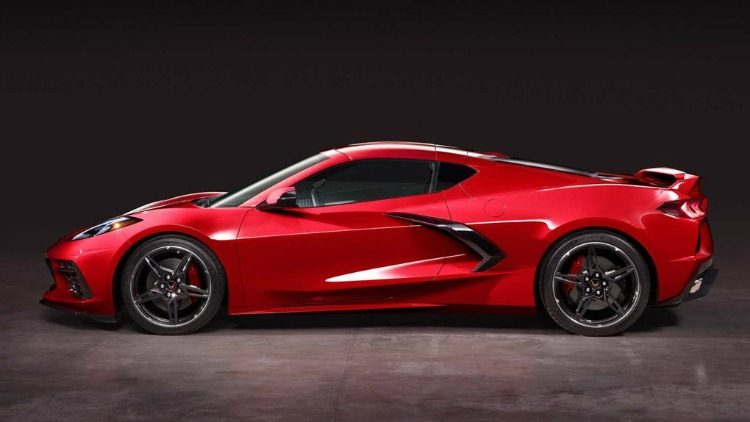 Chevrolet Corvette Stingray (C8) '20