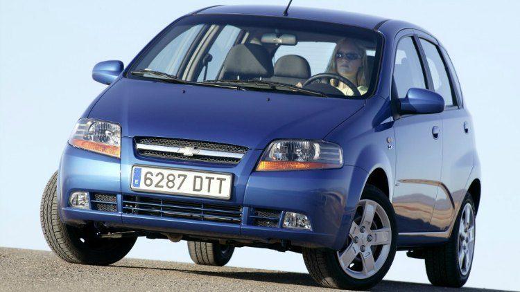 Chevrolet Kalos (T200) '05
