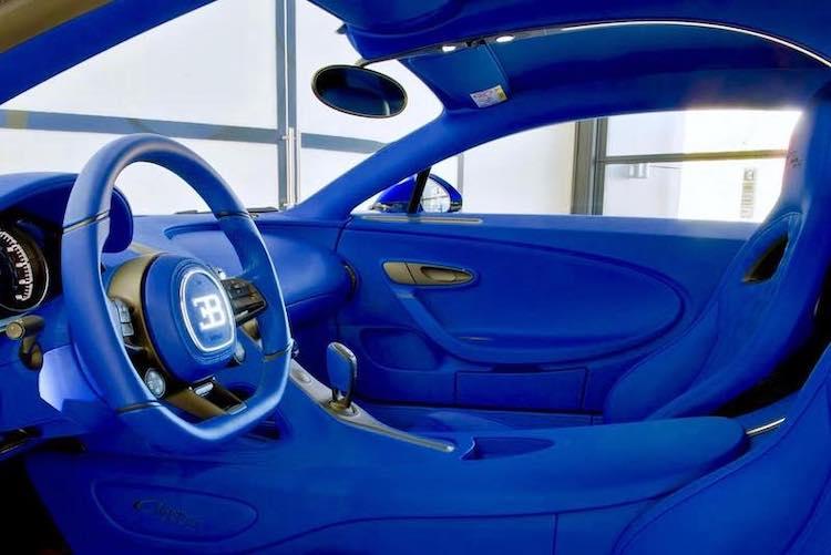Allereerste Bugatti Chiron Sport is bíjna helemaal blauw