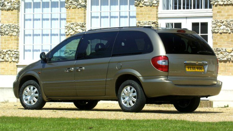 Chrysler Grand Voyager 2.8 CRD Limited '06