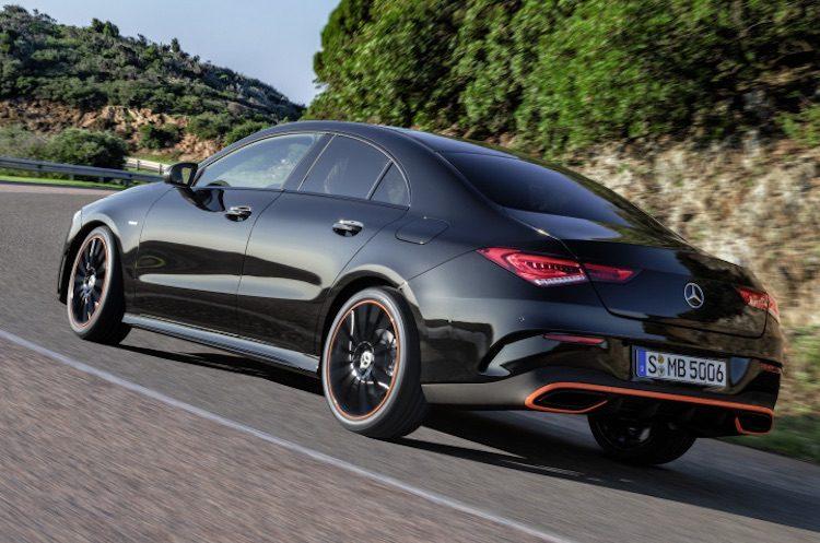De nieuwe Mercedes CLA Coupé is nu officieel