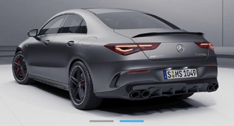 Kijk nou, het is de Mercedes-AMG CLA 45