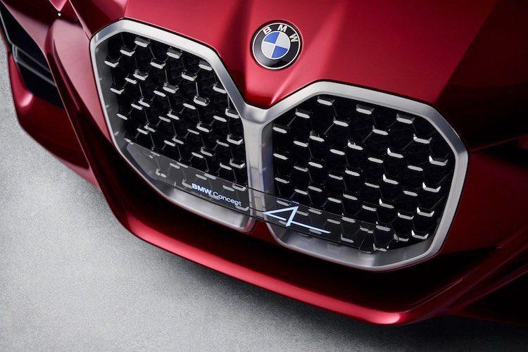 BMW M bevestigt grote grille voor 4 Serie