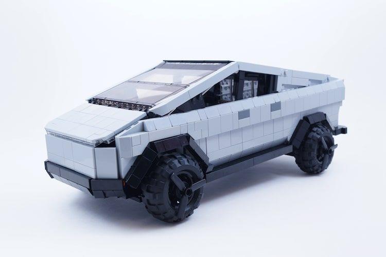 Steun het idee van een LEGO Tesla Cybertruck