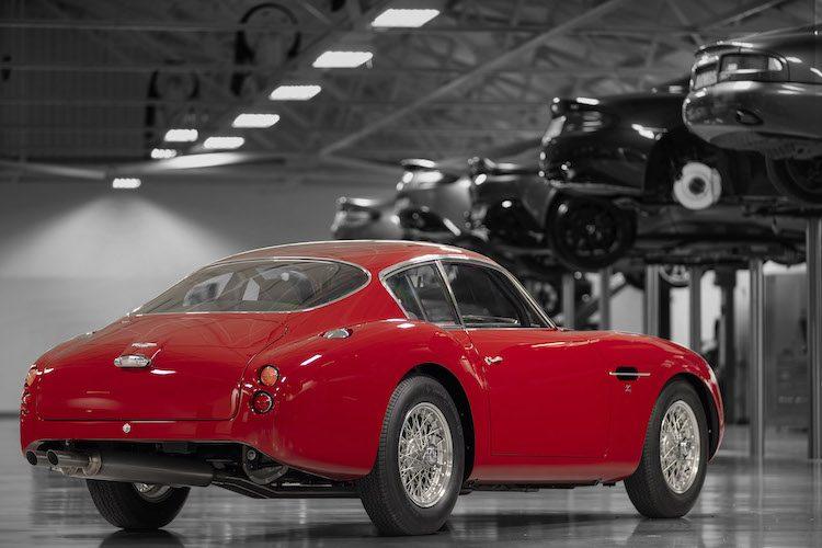 Dit is de eerste Aston Martin DB4 GT Zagato Continuation