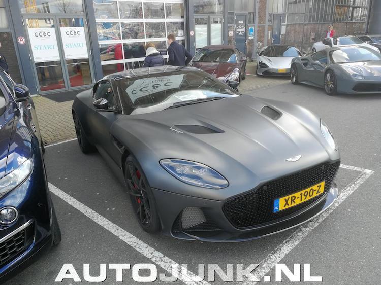 8x Aston Martin DBS Superleggera op NL kenteken