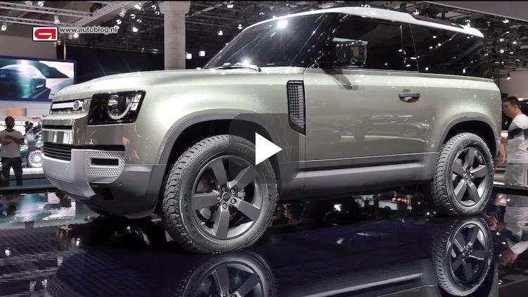 Autoblog video: dit is de nieuwe Land Rover Defender