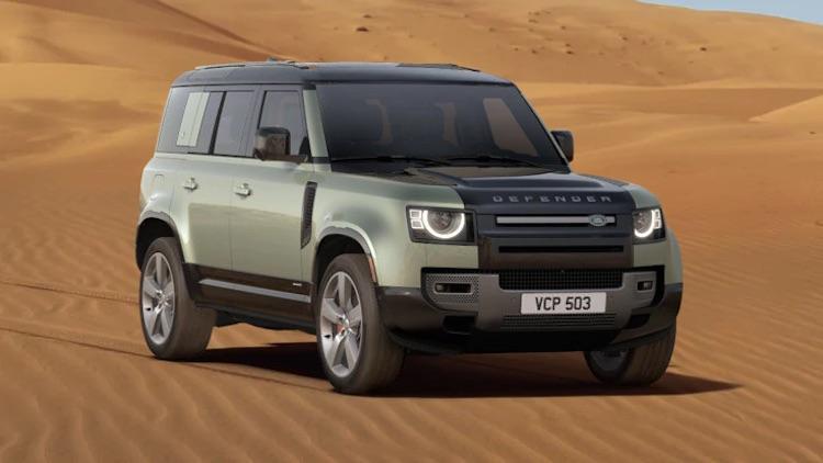 Bouw nu je eigen Land Rover Defender