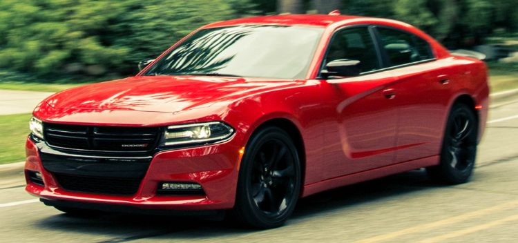 Dodge Charger SXT BlackTop '16