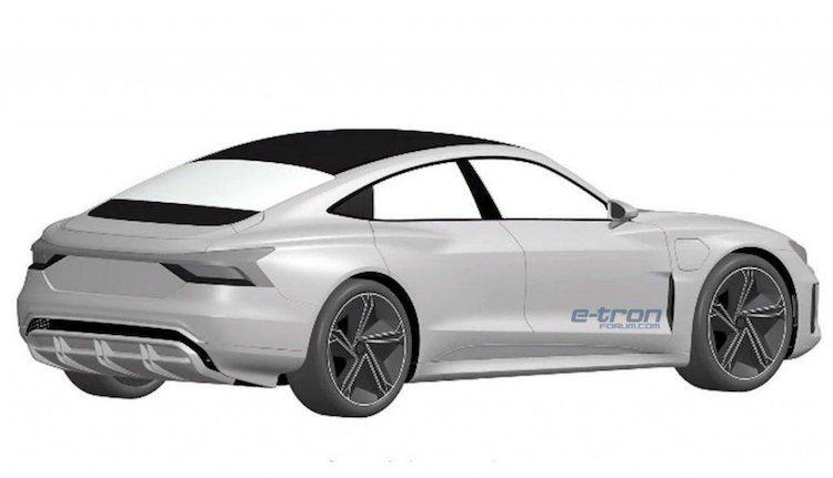 e-tron GT patent