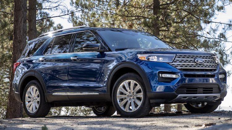 De nieuwe Explorer: dik 5 meter aan Ford SUV