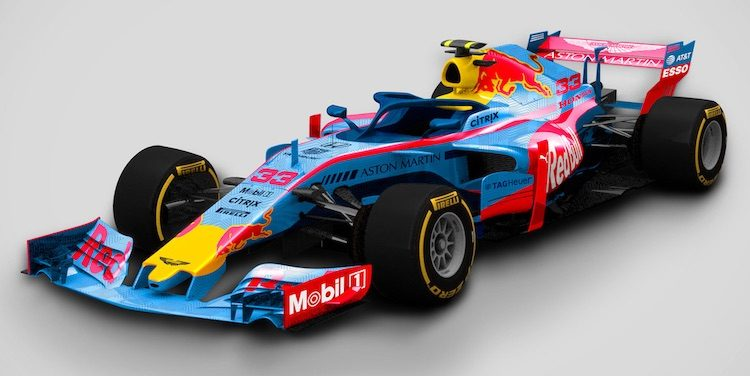 F1 livery