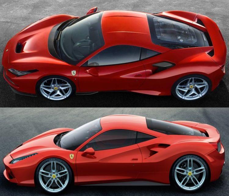 Errari F8 Spider: Ferrari F8 Tributo & Spider