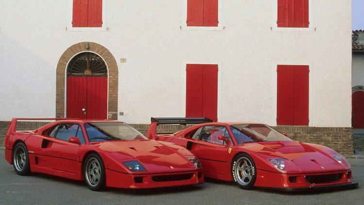 Ferrari lanceert klasse voor F40 Competizione en F50 GT