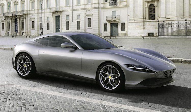 Ferrari Roma voorkant