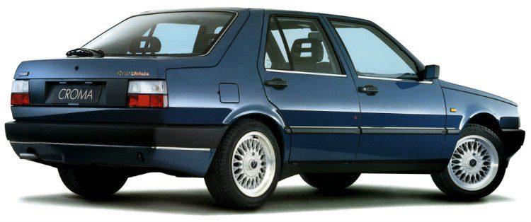Fiat Croma Turbo i.e. (154) '89