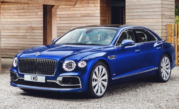 Hier, de exclusieve Bentley Flying Spur First Edition