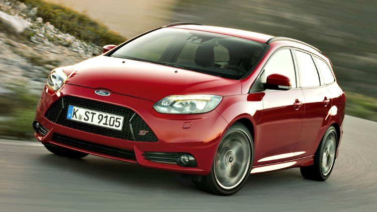 Ford Focus ST Stationwagon (DYB) '12
