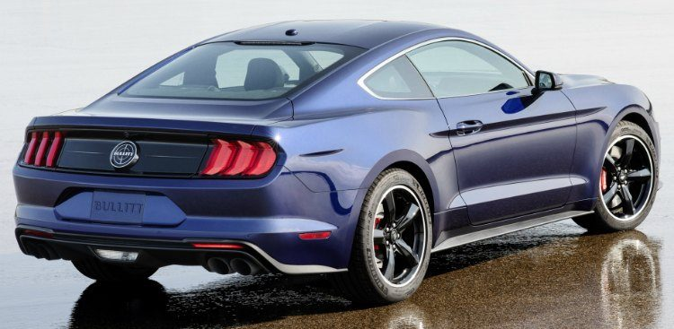 Ford Mustang Billitt 'Kona Blue' '19