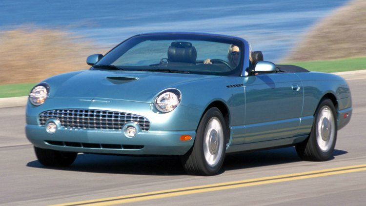 Ford Thunderbird '02