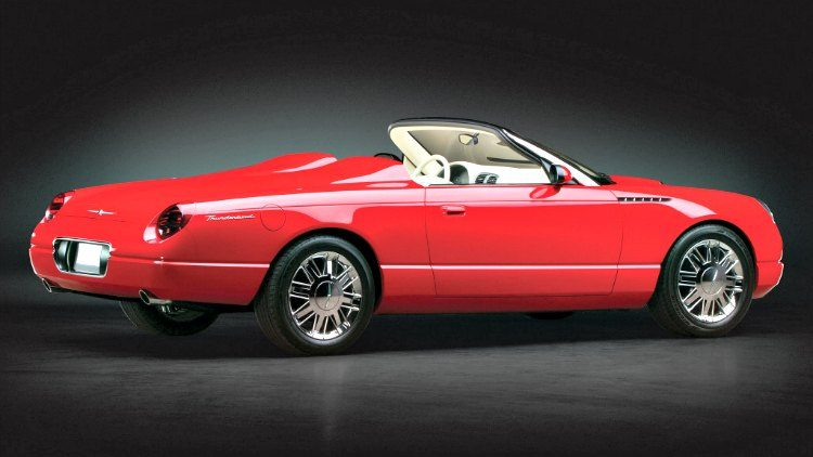 Ford Thunderbird Sports Roadster Concept '01