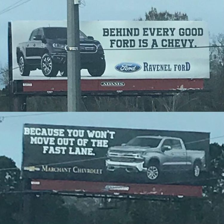 Chevrolet vs Ford