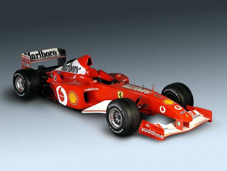 Michael Schumacher F2002