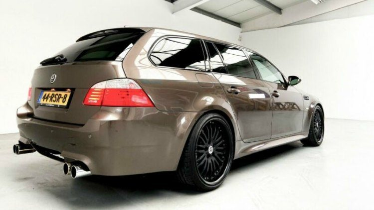 G-Power M5 Touring Hurricane RR (E61)