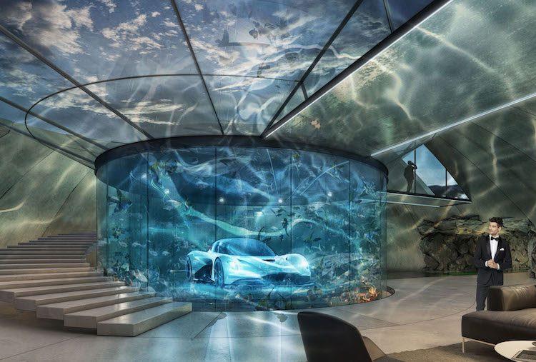 Waan je James Bond met een droomgarage van Aston Martin