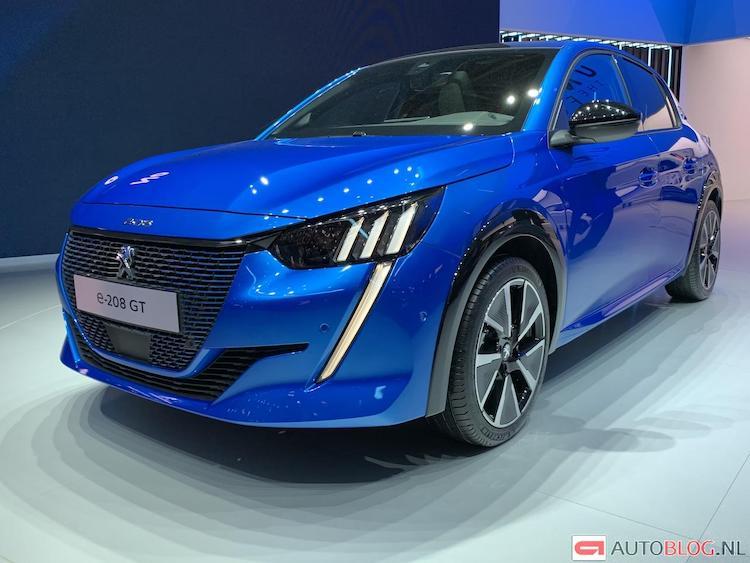 Lijstje! De 16 blauwe auto's van Genève 2019