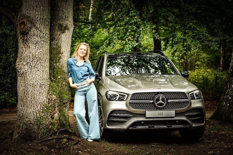 Ilse DeLange aan de Mercedes GLE