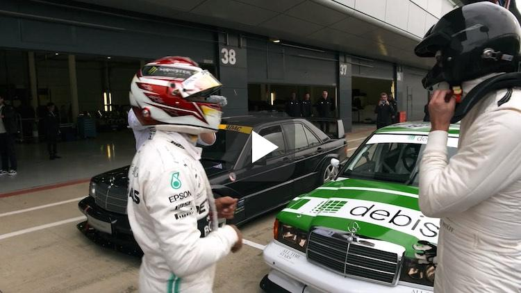 Lewis Hamilton en Toto Wolff hebben lol in Benz-battle