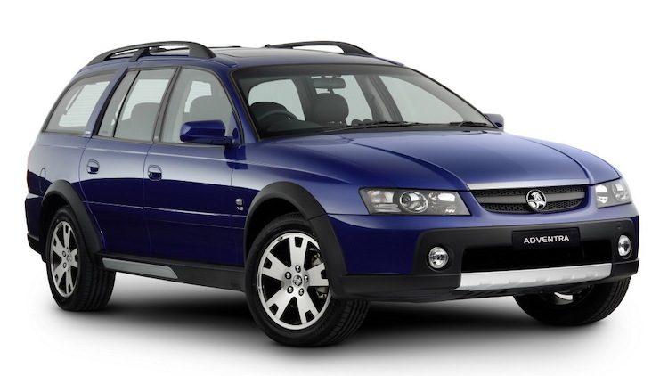 Holden Adventra LX8 (VZ) '06