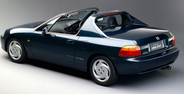 Honda CR-X Del Sol Si-R (EG2) '95