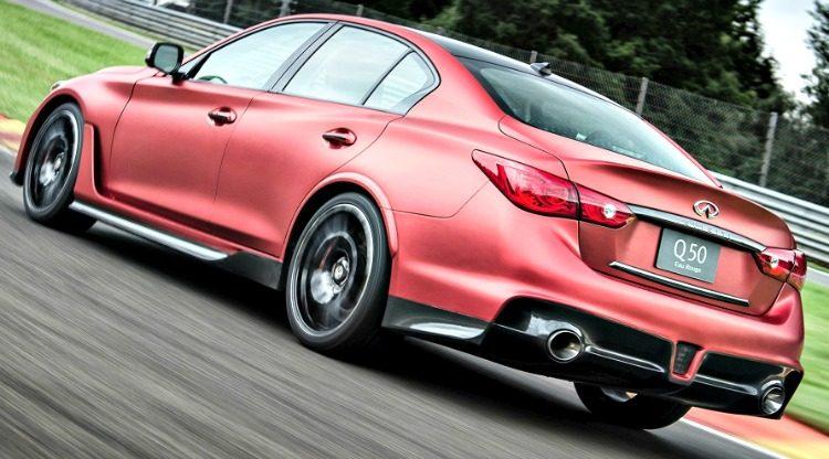 Infiniti Q50 Eau Rouge Concept '14