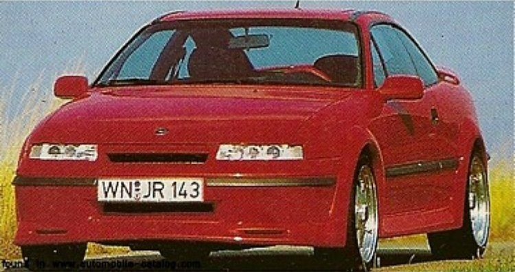 Irmscher Opel Calibra Turbo 4x4 '94