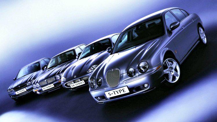 Jaguar X-Type - XJ - XK - S-Type '03